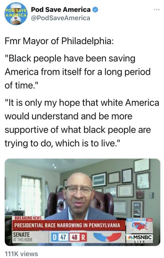 Pod Save America Twitter